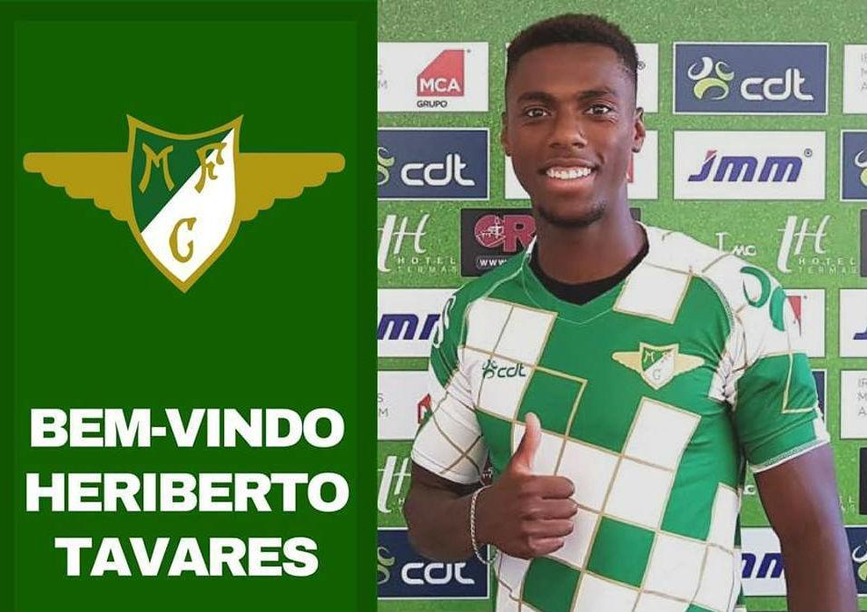 Heriberto no Moreirense (Foto Moreirensefc.pt)