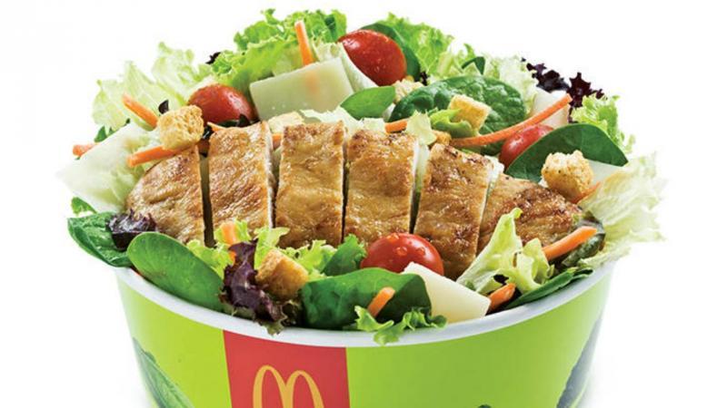 Salada do McDonald's