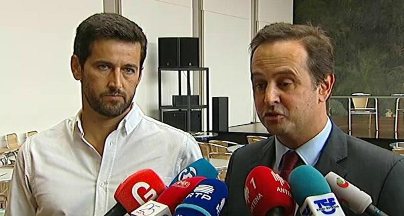 Ricardo Robles (BE) e Fernando Medina