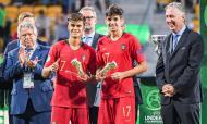 Sp. Braga: Trincão (à direita) chamado para a Seleção sub-20