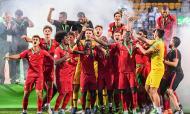 Portugal vence Europeu de Sub-19