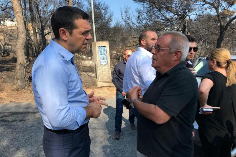 Alexis Tsipras em Mati