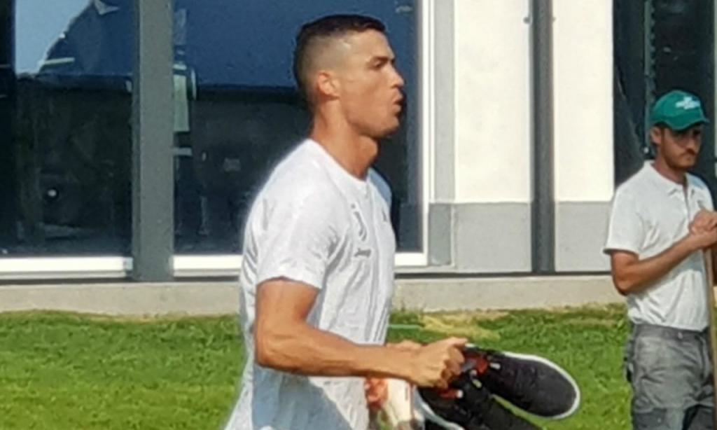 Ronaldo (foto Juventus)