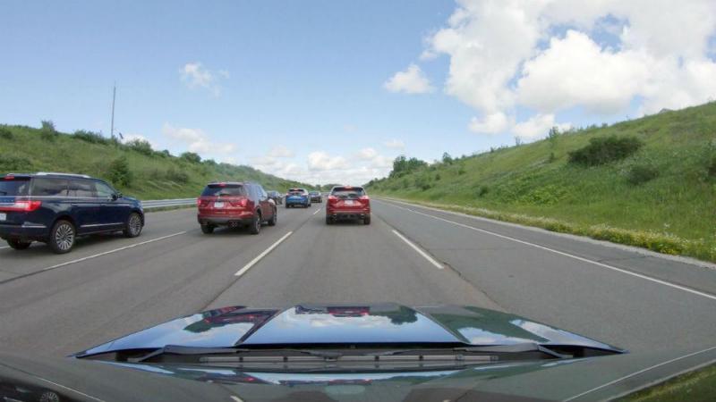 Trânsito intenso