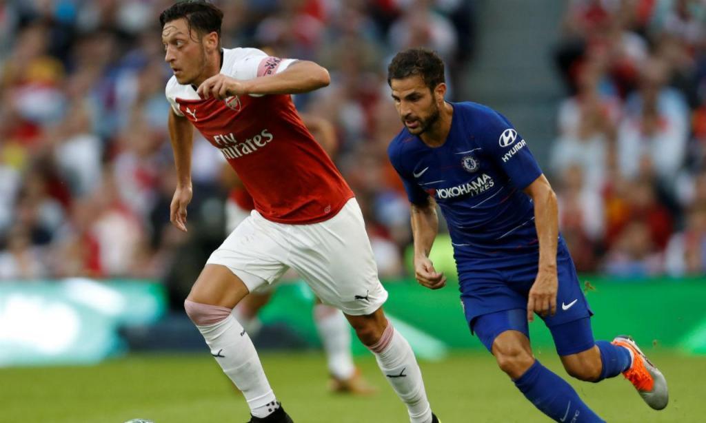 Arsenal-Chelsea 01.08.2018 (reuters)