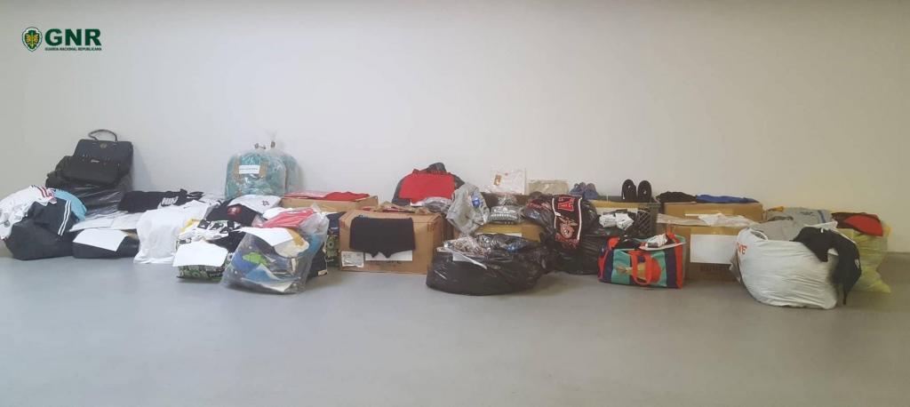 GNR - Apreensão de roupa contrafeita
