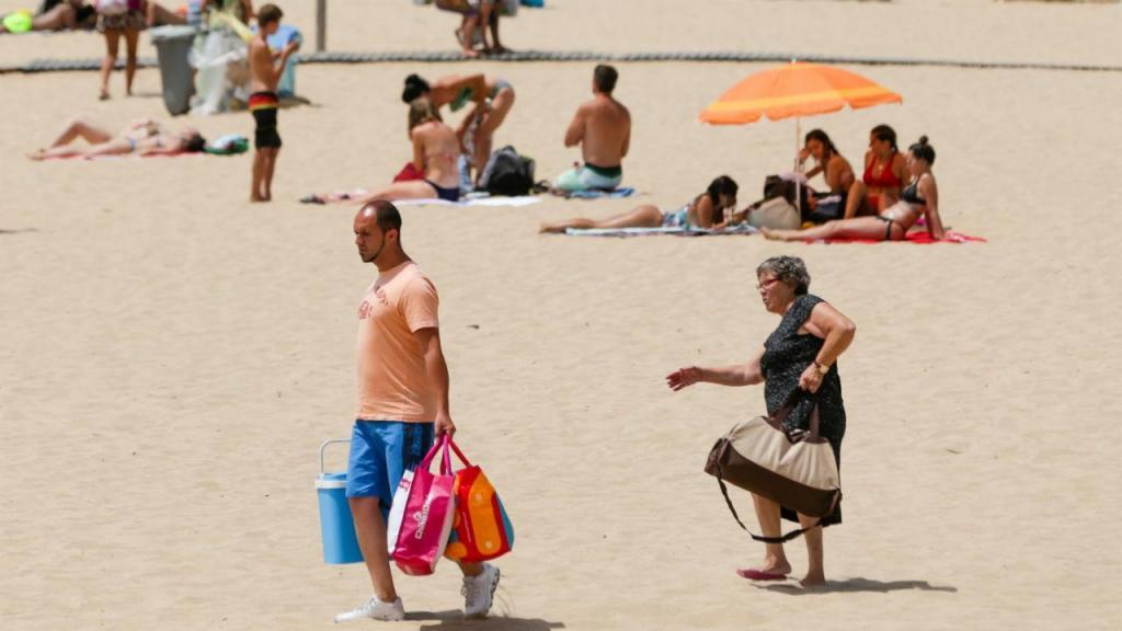 Calor em Oeiras, Lisboa