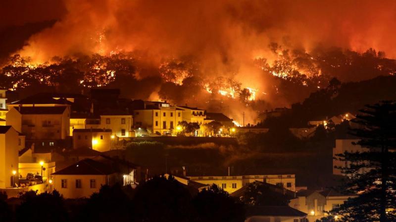 Monchique: as chamas junto às casas