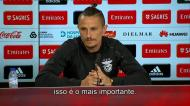 Fejsa: «Esperamos um bom jogo e um bom resultado»
