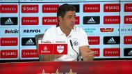Rui Vitória diz como vai jogar o Fenerbahçe frente ao Benfica