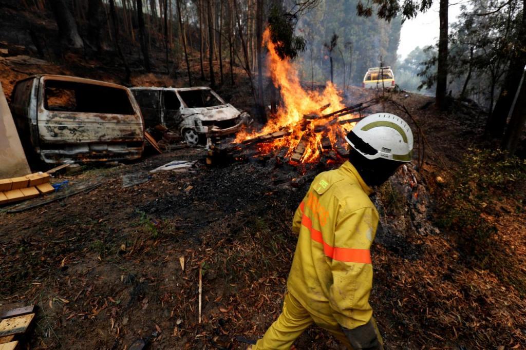 Incêndio em Monchique [Reuters]