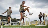 Cristiano Ronaldo, treino Juventus (twitter da Juventus)