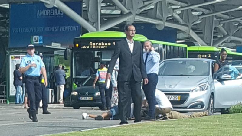 Homem atropelado no Aeroporto de Lisboa