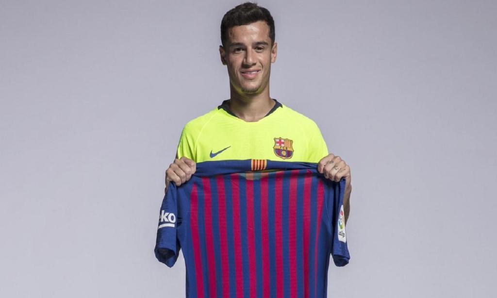Coutinho muda de número (Foto: Barcelona)