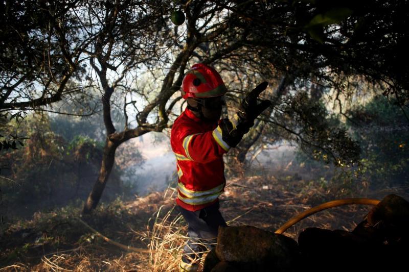 Incêndio em Silves