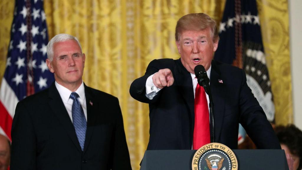 Mike Pence e Donald Trump