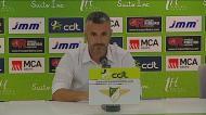Questionado sobre penálti, Ivo Vieira disserta sobre futebol português