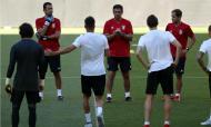 Treino do Benfica na Turquia (EPA/ERDEM SAHIN)