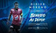 Didier Moreno (Foto: Deportivo)