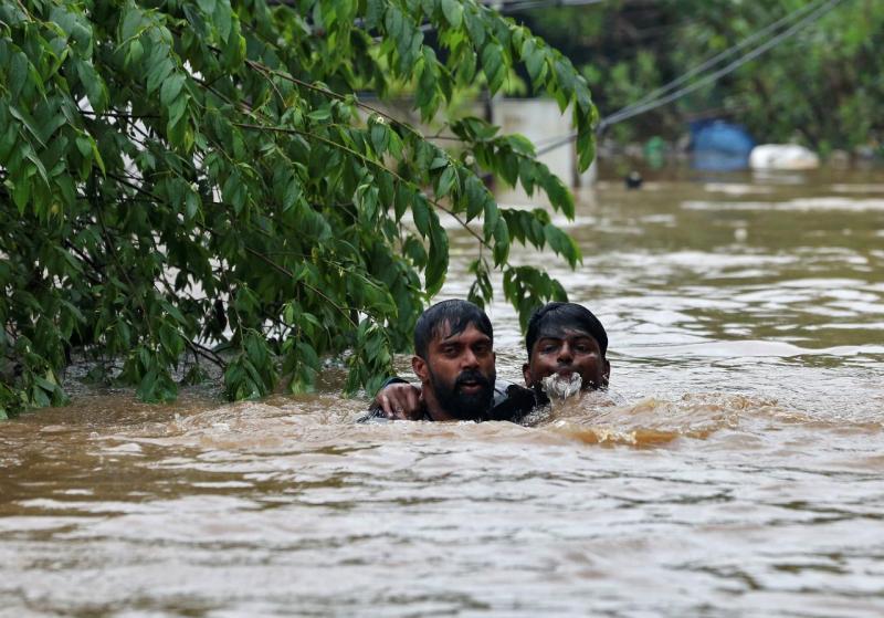 Inundações - Kochi, Índia