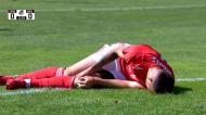 Benfica: o momento da lesão grave de Anthony Carter