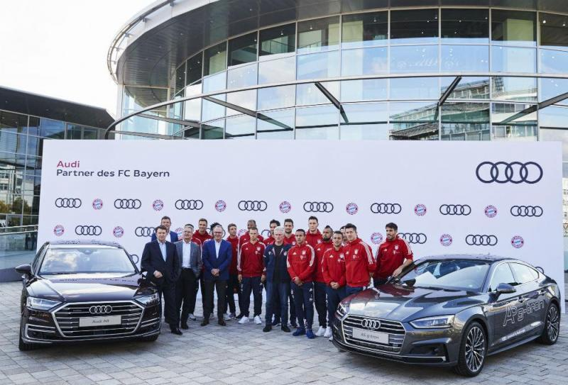 Audi e Bayer Munique
