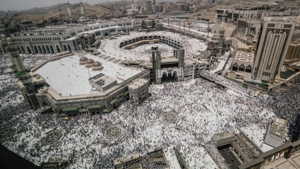Meca recebe dois milhões de peregrinos