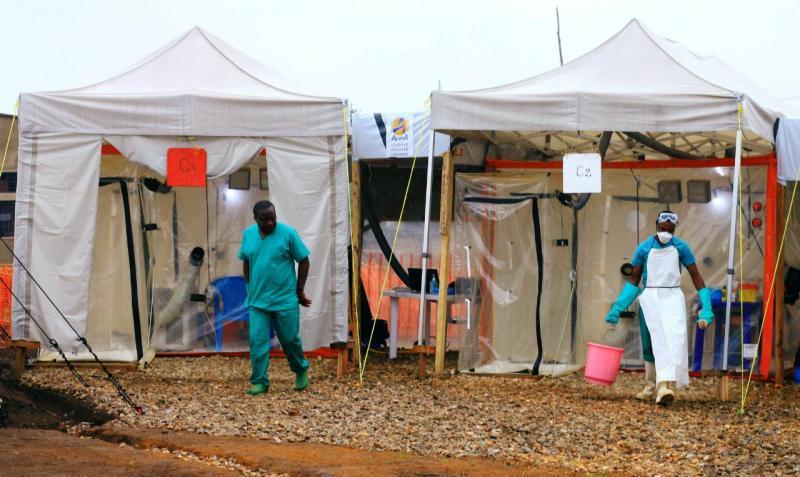 Ébola - centro de tratamento de doentes no Kivu-Norte (República Democrática do Congo)