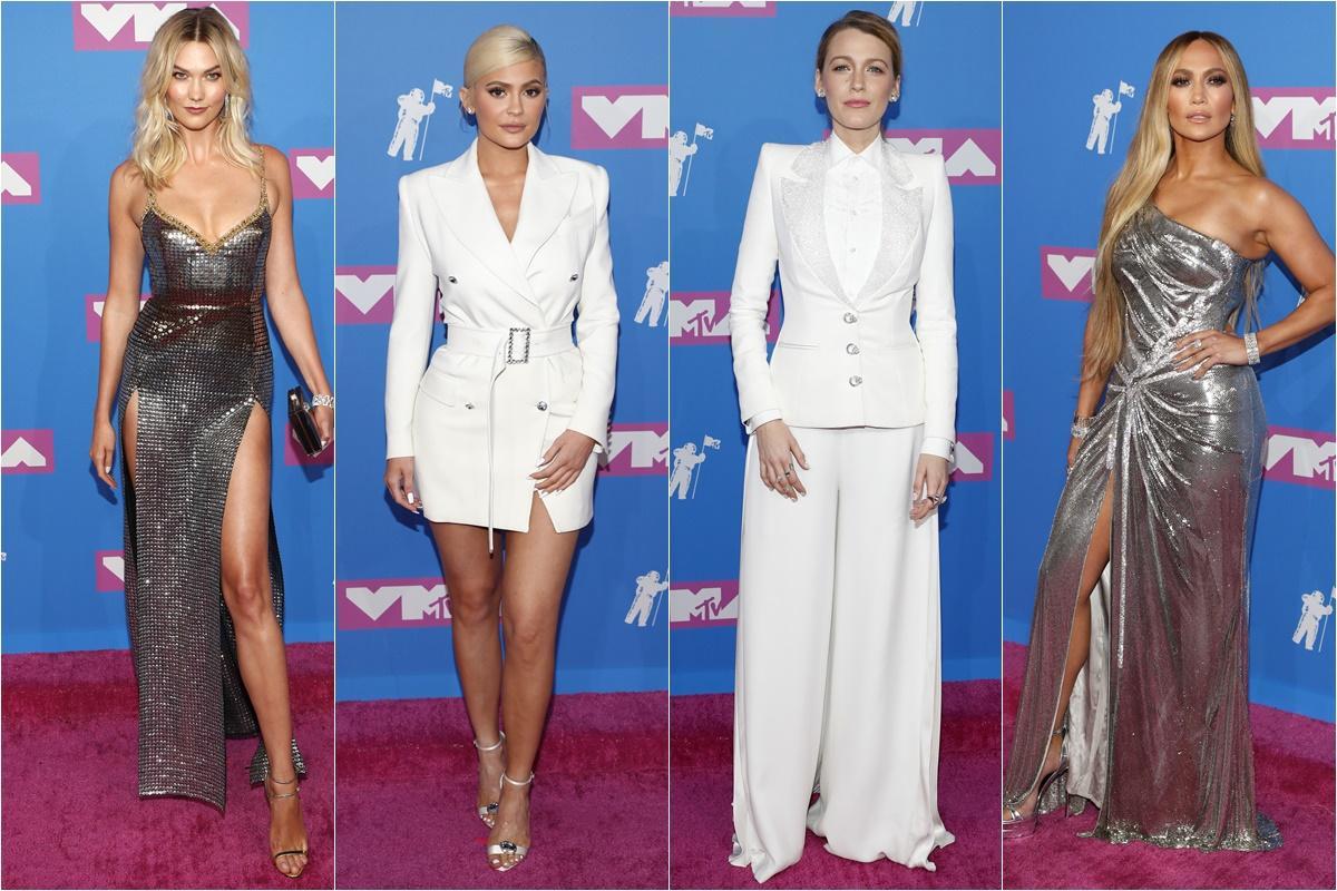 MTV Video Music Awards: branco e prateado ditam as tendências