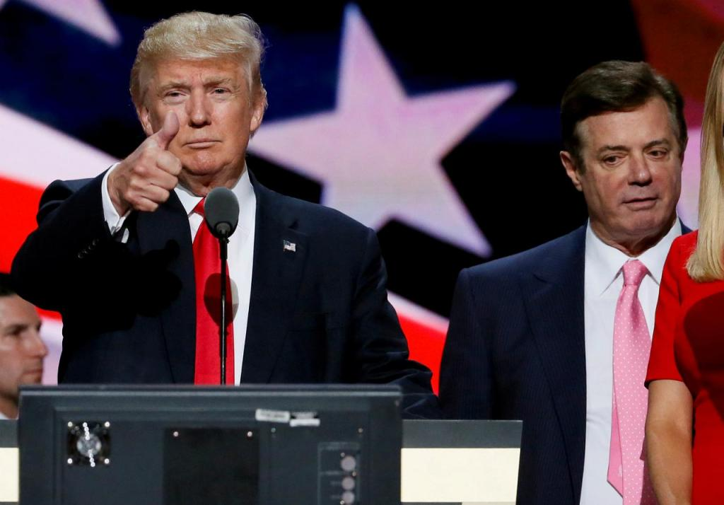 Donald Trump e Paul Manafort