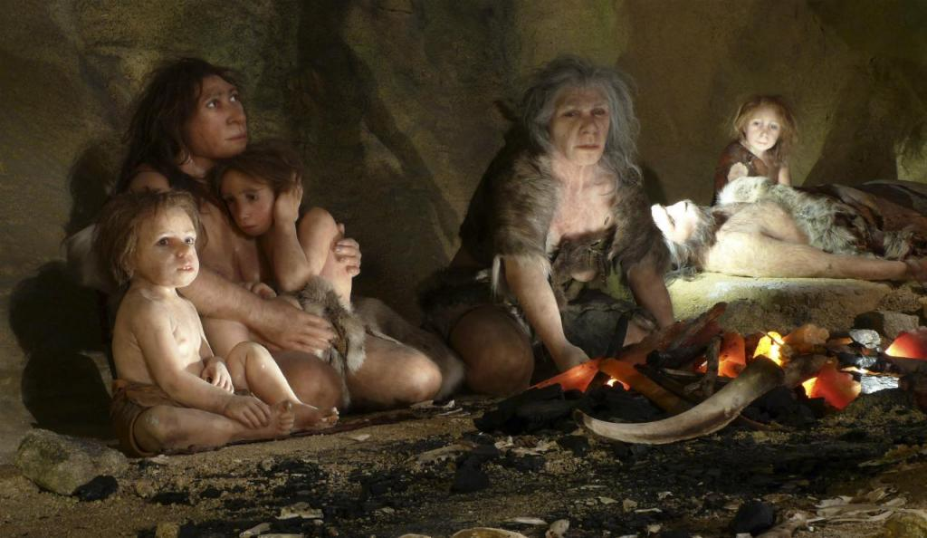 Família - Neanderthal Museum - Krapina (Croácia)