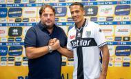 Bruno Alves apresentado no Parma (twitter Parma)