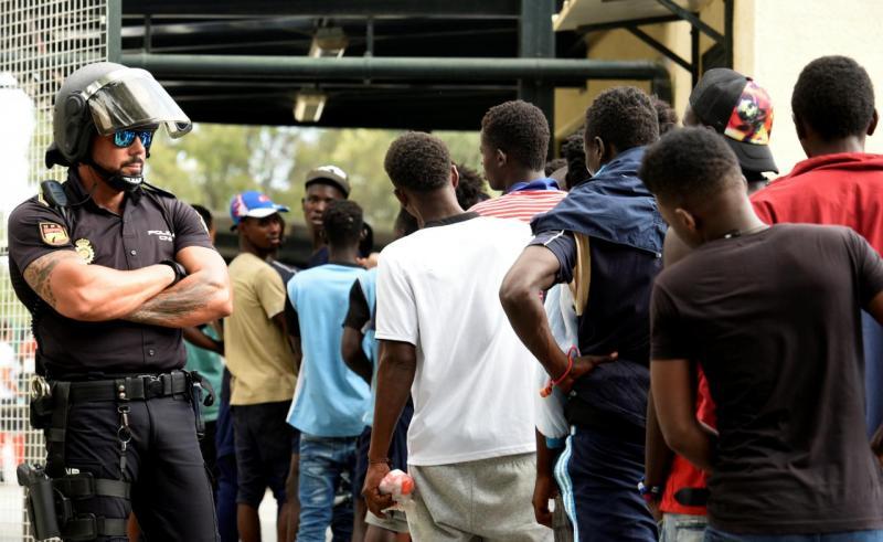 Refugiados - Ceuta