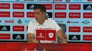 «Jonas e Castillo ainda não estão disponíveis para o dérbi»