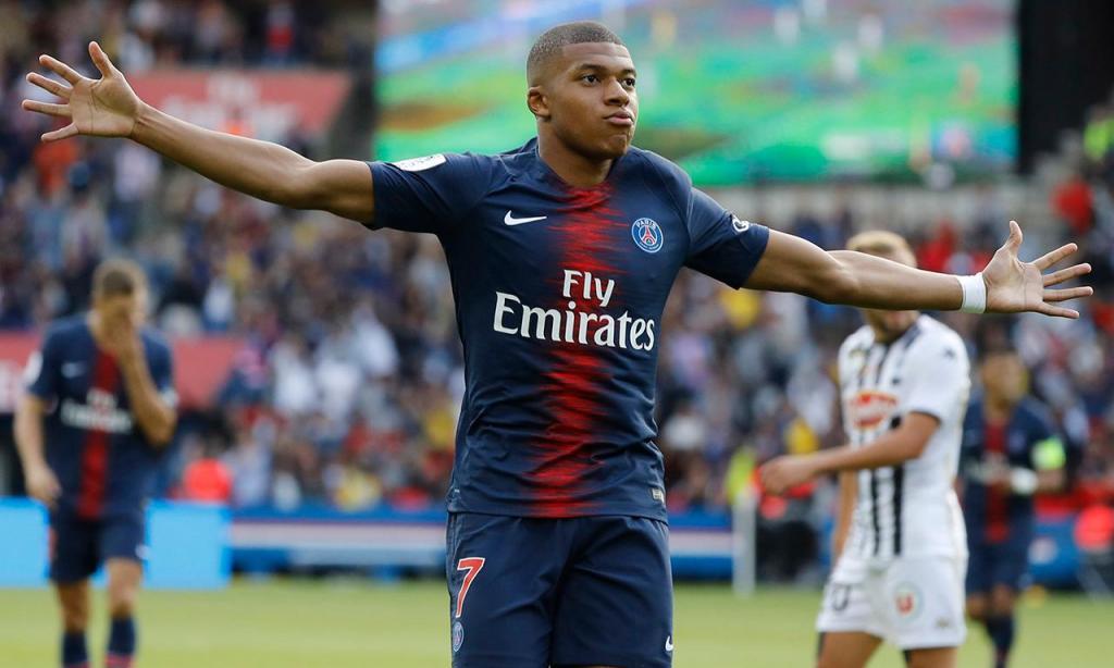 1. Kylian Mbappé (PSG, França) - 218,5 milhões
