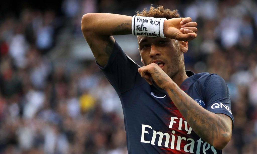 3. Neymar (PSG, Brasil) - 197,1 milhões