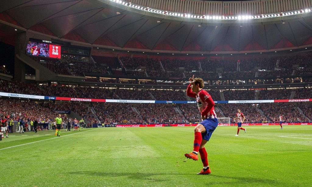 Atlético Madrid-Vallecano