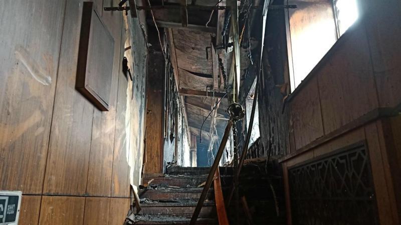 Incêndio em hotel na China