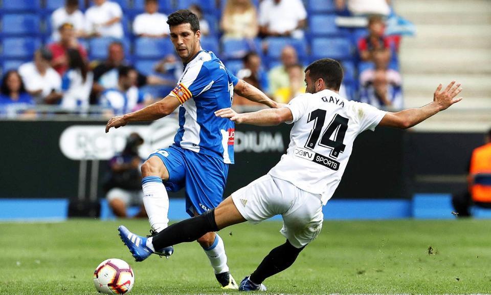 Valência perde em Barcelona frente ao Espanhol