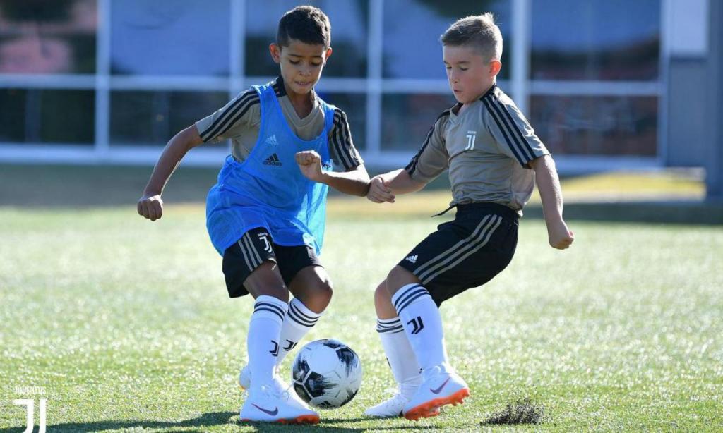 Cristianinho também já iniciou a temporada (fotos: Juventus)