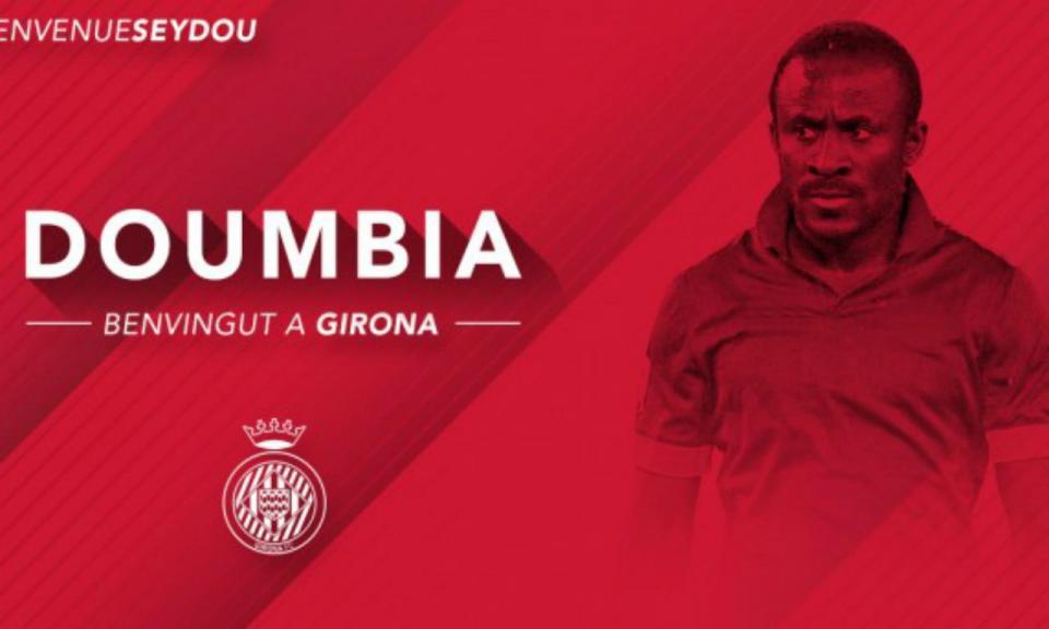 OFICIAL: Girona rescinde contrato com Doumbia (ex-Sporting)