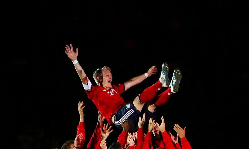 Bayern Munique homenageia Schweinsteiger