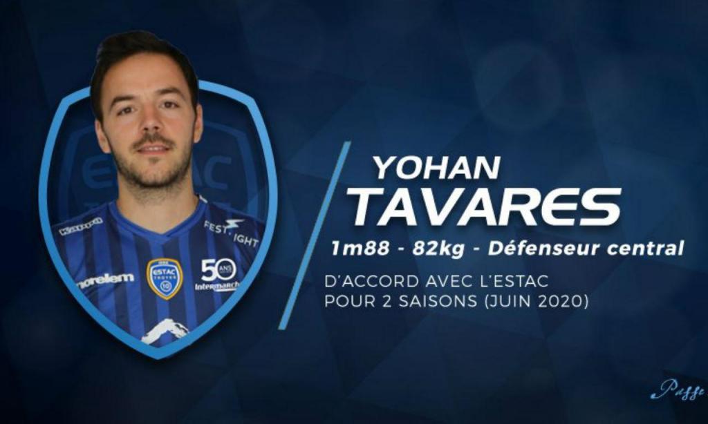 Yohan Tavares (twitter Troyes)