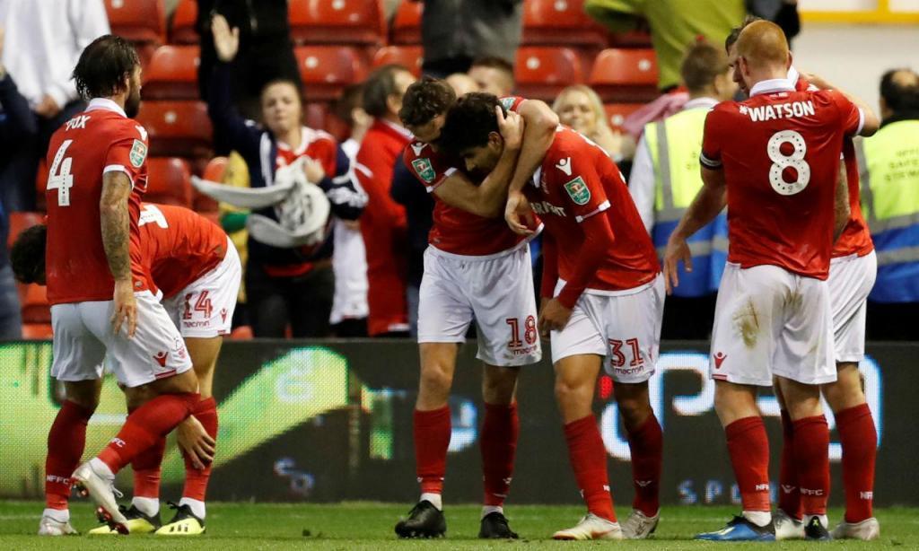 Gil Dias - Nottingham-Newcastle (Reuters)