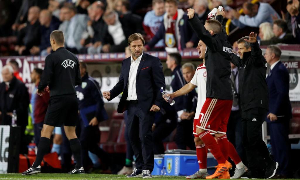 Burnley-Olympiakos (Reuters)