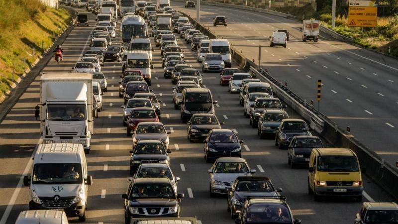 Trânsito na A3 (Lusa/José Coelho)