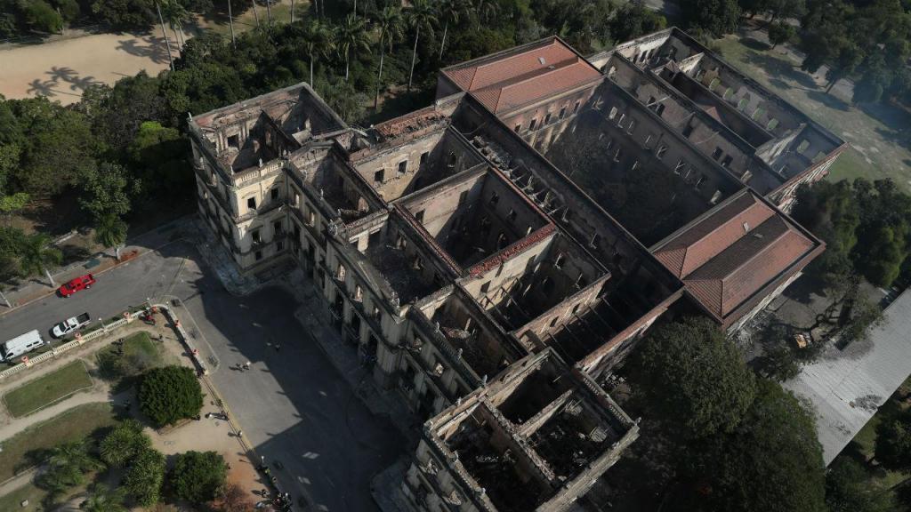 Incêndio no Museu Nacional do Brasil