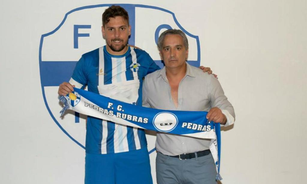 Tiago Cintra (site oficial do FC Pedras Rubras)
