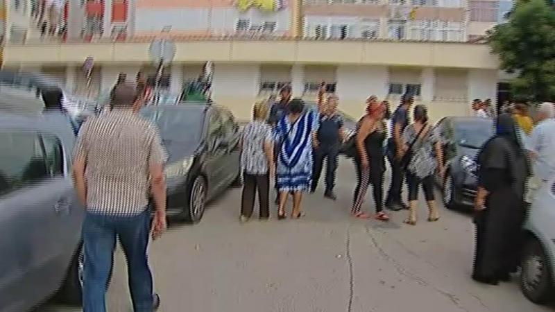 Momentos de tensão na detenção do alegado raptor de criança no Seixal