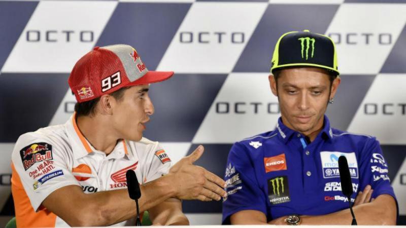 Marquez e Rossi (MotoGP)